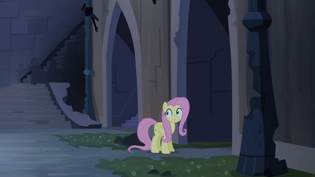 File:Fluttershy realizing she's alone S4E03.png