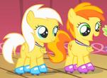 Sunny Daze and Peachy Pie thumb