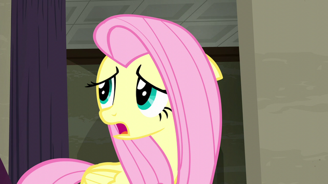 File:Fluttershy wonders what Rarity would want S6E9.png
