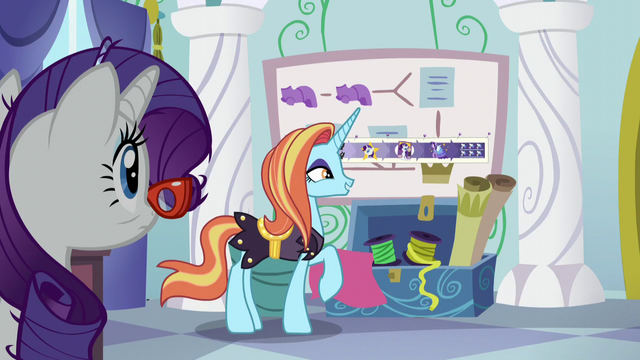 "File:Sassy Saddles ""my pattern is perfect!"" S5E14.png"