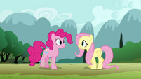 Fluttershy 'I'm so glad you wandered by' S3E3