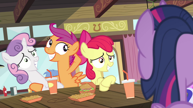 File:Scootaloo posing with Sweetie S4E15.png