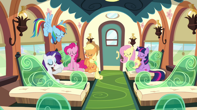 File:The Mane six in train S3E12.png