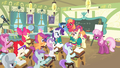The Ponytones singing in the classroom S4E14.png