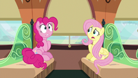 "Fluttershy ""what zone Rainbow Dash is talking about"" S6E18"