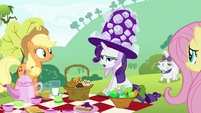 "Rarity ""anything suitable to wear"" S4E18"