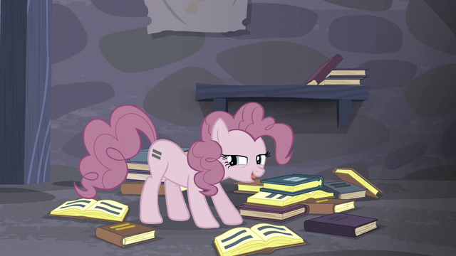 "File:Pinkie ""wait for a big enough hole to form"" S5E02.png"
