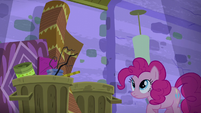 Pinkie Pie throws out bland restaurant furniture S6E12