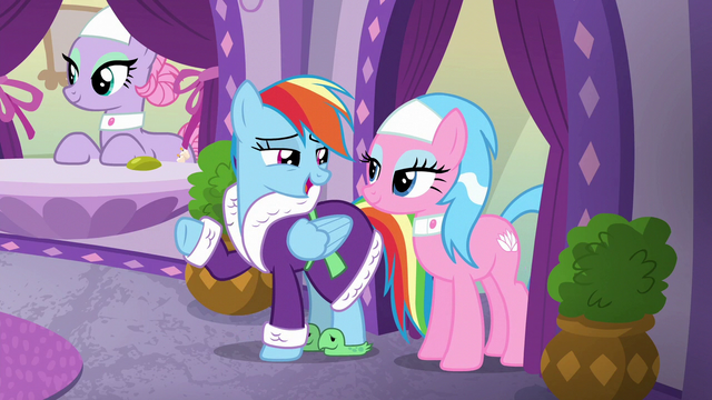 "File:Rainbow Dash ""oh, absolutely!"" S6E10.png"