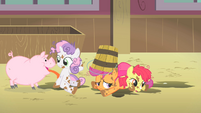 Cutie Mark Crusaders farm S1E18