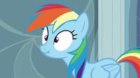Rainbow scrunchy face S5E5