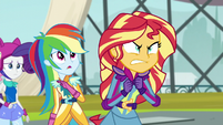Sunset Shimmer very angry EG3