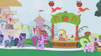 Applejack's dream of the Gala S01E03