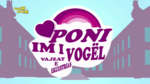 My Little Pony Equestria Girls Logo - Albanian