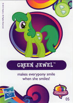 Wave 10 Green Jewel collector card