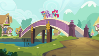 CMC about to skydive off a bridge S03E11