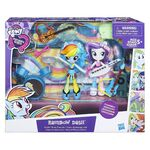 Equestria Girls Minis Rainbow Dash Rockin' Music Class Set packaging