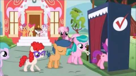 My Litlle Pony The Vote song Swedish My Litlle Pony The Vote song Swedish