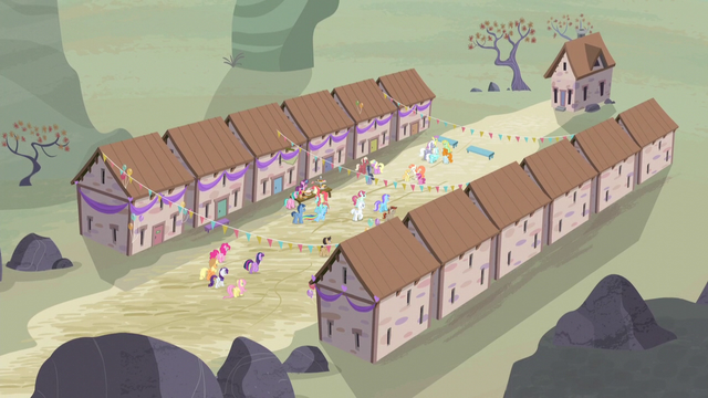 File:Mane Six join in the celebration S5E2.png