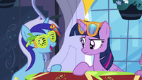 "Minuette ""starting to come out of her shell"" S5E12"