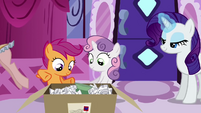 Helping Rarity S2E23