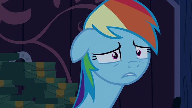 "File:Rainbow Dash ""I was really scared!"" S6E15.png"