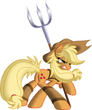 File:FANMADE Applejack Warrior.png