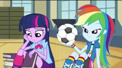 German Equestria Girls Rainbow Rocks Animated Shorts Shake Your Tail!