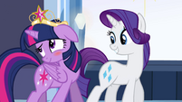 Rarity teases Twilight EG