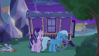 Trixie trying to catch her breath S6E25