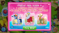 Astro Pony, Richard (the) Hoovenheart, and Trenderhoof promo MLP mobile game.png