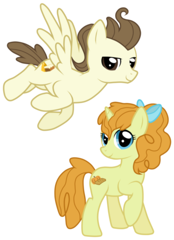 File:FANMADE Older Pound and Pumpkin Cake by JennieOo.png