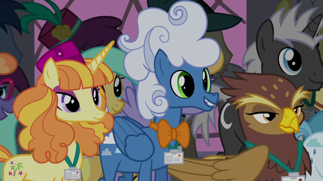 Image Fluffly Clouds Listening To Princess Celestia My Little Pony Friendship Is