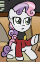 Friends Forever issue 2 Sci-fi captain Sweetie Belle