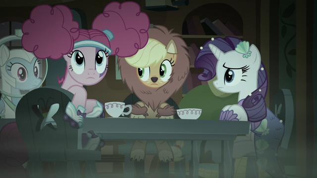 File:Pinkie Pie listening to Fluttershy S5E21.png