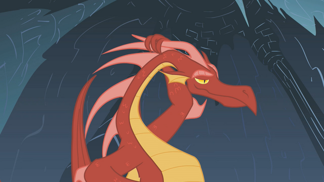File:The dragon likes what Rarity says S1E07.png