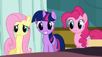 Twilight huge smile S2E16