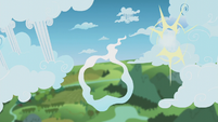 Dumb-Bell collides into a cloud pillar S5E25