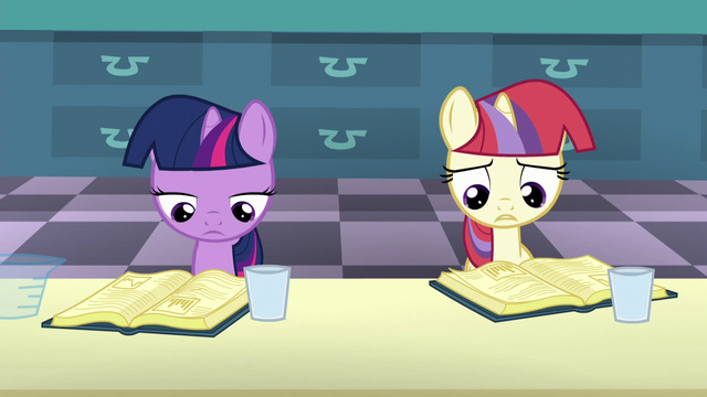 "File:Filly Moon Dancer ""I've got the wrong book"" S5E12.png"