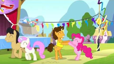Hungarian My Little Pony Pinkie The Party Planner Song - Reprise HD
