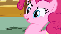 Pinkie Pie looking devious S01E05