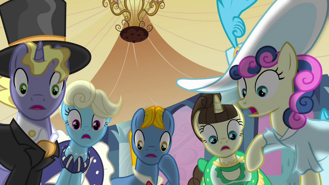 File:Ponies shocked by Celestia's defeat S2E26.png