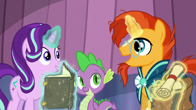 "File:Sunburst ""to clear away the snow"" S6E2.png"