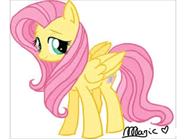 File:FANMADE Fluttershy drawing 2.jpg