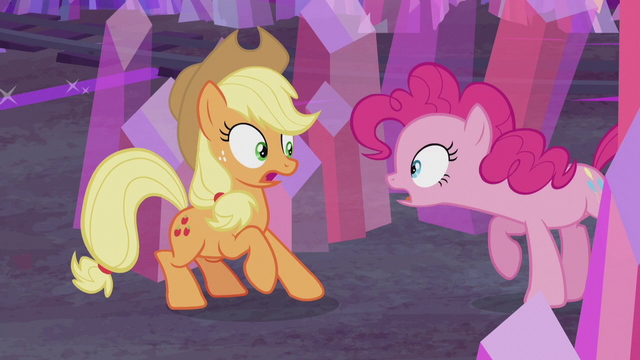 """File:Pinkie Pie """"what are you doing here?"""" S5E20.png"""