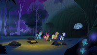 The group entering the cave S3E06