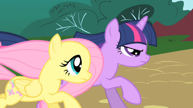 File:Twilight and Fluttershy chase Philomena S01E22.png