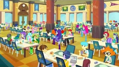 equestria girls cafeteria song international versions my little