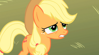 Applejack embarrassed of her sister S1E18