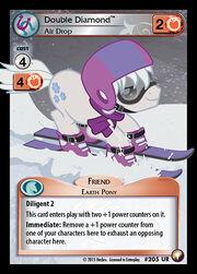 Double Diamond, Air Drop card MLP CCG